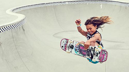 The 11-Year-Old Girl Taking Skateboarding By Storm